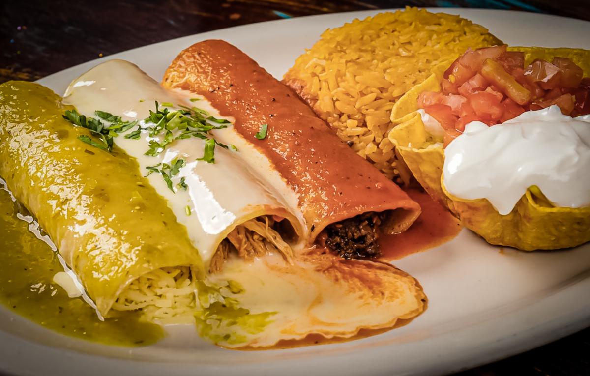 Enchiladas Rancho Viejo